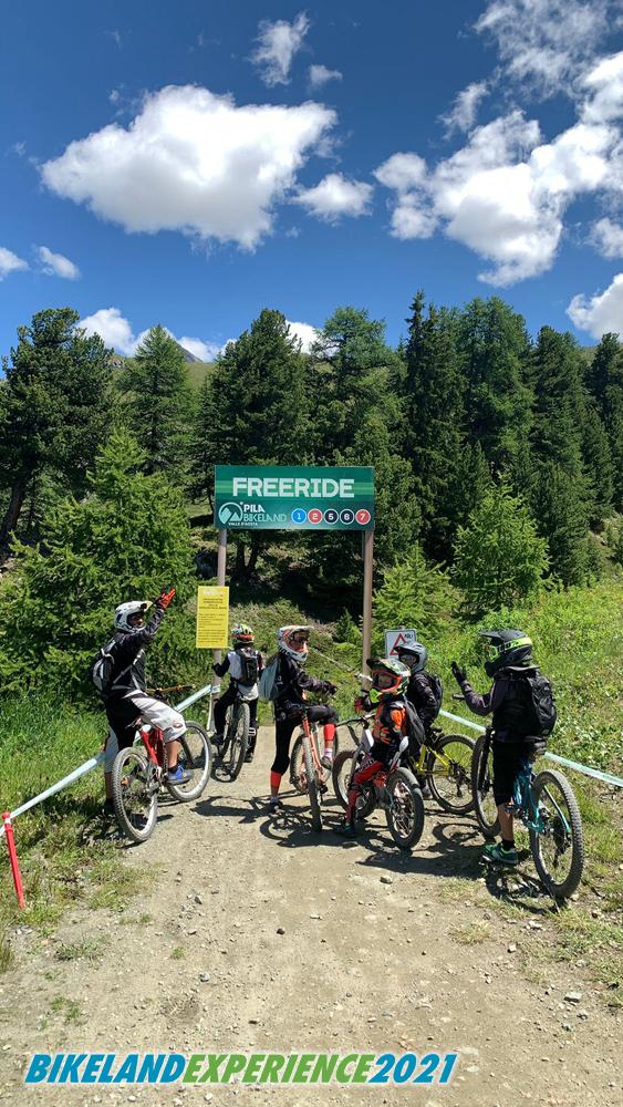 camp bikeland Pila (Aosta) - Bikeland school scuola mountainbike Chiavari